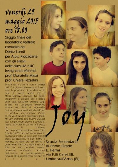 locandina joy limite 2015