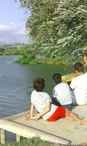 verdeacqua in riva al lago